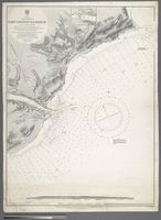 Africa. South-east coast. East London harbour and approaches. Surveyed by