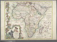 Carte Generale de L'Afrique Contenant les Principaux Etats qui y sont Contenue Dressee sur les Nouvelles Observations