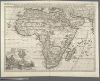 L'Afrique selon les nouvelles observations de Messieurs de l'Academie de Sciences etc