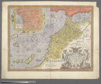 Fessae et Marocchi Regna Africae Celeberr. describebat Abrah. Ortelius 1595