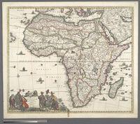 Totius Africae Accuratissima Tabula, Authore Frederico de Wit, Amstelodami