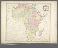 (1e) Carte d'Afrique, 1754 -- (2e) Carte d'Afrique, 1754
