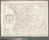 Carte des Royaumes de Congo, Angola, et Benguela Avec des Pays Voisins Tiré de l'Anglois
