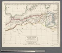 Mauritania, Numidia et Africa Propria