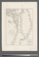 Map to Illustrate the Sketches of David Roberts, Esq: R. A. in Egypt and Nubia, 1849