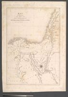 Map to Illustrate the Route of David Roberts, Esq: R. A. in the Holy Land, Petrea &  Syria