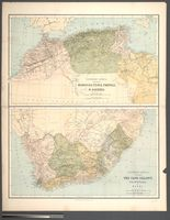 Northern Africa, including Morocco, Tunis, Tripoli, &  Algeria -- Southern Africa, including the Cape Colony, Transvaal and Natal