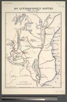 Dr. Livingstone's Routes, 1866 - 1872