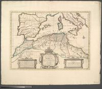 In Notitiam Ecclesiasticum Africae Tabula Geographica