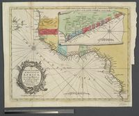 A New and Correct Map of the Coast of Africa from Cape Blanco, to the Coast of Angola. Exhibiting all the European Forts &  Settlements
