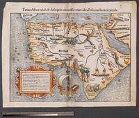 Totius Africae tabula et descriptio universalis etiam ultra Ptolemaei limites extensa