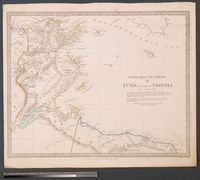 North Africa or Barbary III : Tunis and part of Tripoli
