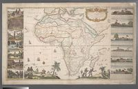 To Her Most Sacred Majesty Caroline, Queen of Great Britain, France and Ireland this Mapp of Africa, after the latest and best Observations is most humbly dedicated