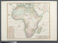 Bowles's New One-sheet Map of Africa divided into its Empires, Kingdoms &  States