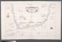 Carta particolare che comincia con il Capo Degortam e con il capo Buona Speranza e finisce in Gradi 27 di Latitudine Australe