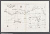 Carta particolare che comincia con il fiume Juntas nella Guinea e finisce con il capo di S. Dara e con l'Isola d'S. Thomaso
