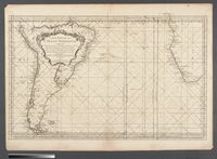 Carte Reduite de L'ocean Meridional