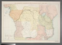 New map of Central Africa / by J.G. Bartholomew