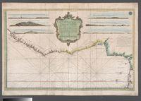 Carte generale de la Coste de Guinee depuis la Riviere de Sierra Leona jusqu'au Cap de Lopes Gonsalvo : pour servir aux Vaisseaux du Roy / dressee au Depost des Cartes et Plans de la Marine