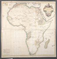 Afrique publicee sous les auspices de Monseigneur le Duc d'Orleans Primier Prince du Sang