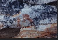 Image of rock painting site
