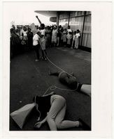 Anti death penalty street theatre - Athlone 11-11-89
