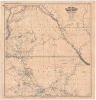 Karte des Deutsch-Portugiesischen Grenzgebiets in Südwestafrika