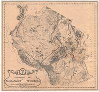 Physiographical map of Tanganyika Territory