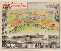Tourist map of Vereeniging