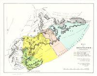 Map of Basutoland