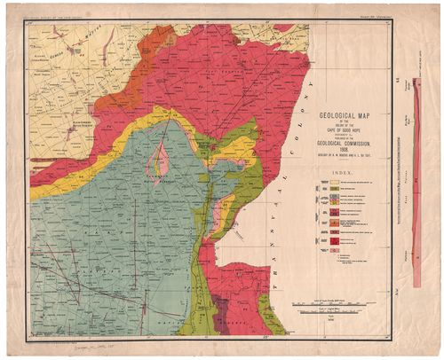 Geological map of the Colony of the Cape of Good Hope, sheet L ...