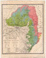 Malarial areas in the Union of South Africa = Malariagebiede in die Unie van Suid-Afrika