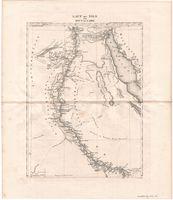 Lauf des Nils von Kous bis Cairo