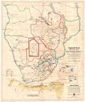 Ingersoll-Rand mining map of southern Africa