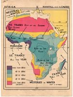 Africa : rainfall and its causes