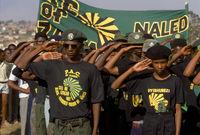 Funeral of PAC member Mike Mosadi, Krugersdorp, South Africa