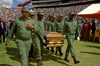 Chris Hani funeral, Soweto, South Africa