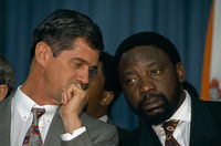 Negotiations prior to first democratic election, Kempton Park, South Africa