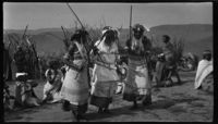 Ritual dance of novice and amagqira