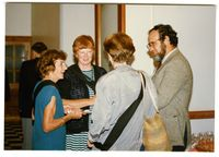 Civic Reception/Dinner. Black Sash Conference, City Hall, Durban, March 1989