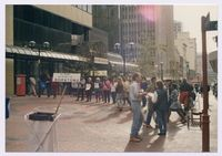 Black Sash demonstration, Cape Town [against Boipatong massacre]