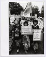 Black Sash demonstration, CapeTown [against Boipatong massacre]