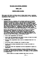 Housing Issues in Natal -Paper Presented at National Conference 1980