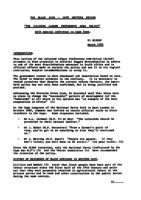 """""""The Coloured Labour Preference Area Policy""""- Paper Presented by Cape Western Region to National Conference 1983"""