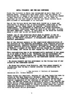 Natal Violence: Why the War Continues: Paper Presented at National Conference 1991