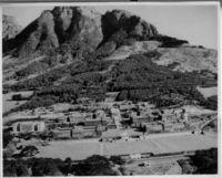Aerial view with Devil's Peak