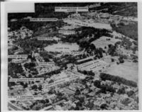Labelled photograph including Middle and Lower Campus