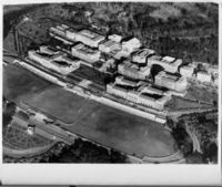 Aerial view of Upper Campus