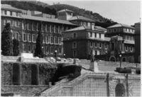 Rhodes statue, War Memorial and Smuts Hall