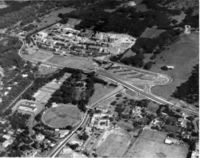 Aerial view Upper and Middle Campus